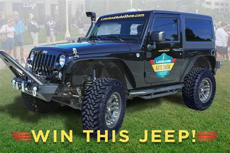 Jeep Wrangler Sweepstakes 2017 - enter the jeep wrangler giveaway