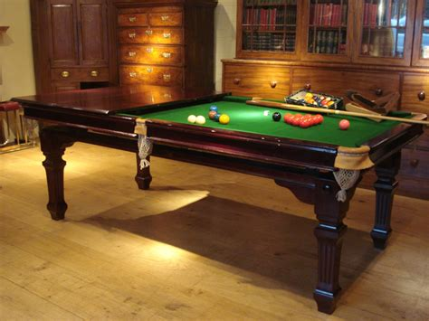 Snooker Dining Tables Sold Edwardian Period 8 Foot Mahogany Snooker Dining Table Antique Dining Tables