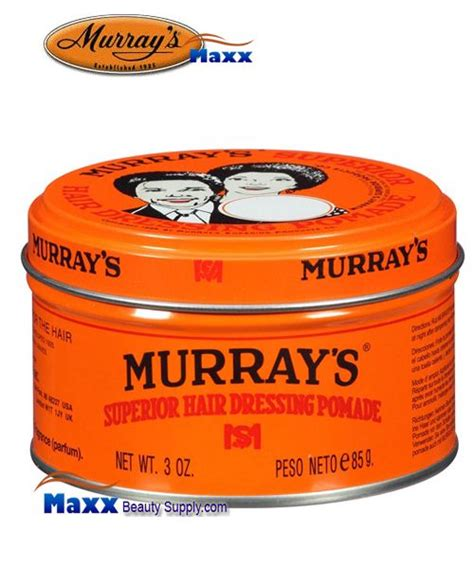 Pomade Murray S Superior murray s superior hair dressing pomade 3oz 2 99 maxxbeautysupply hair wig hair