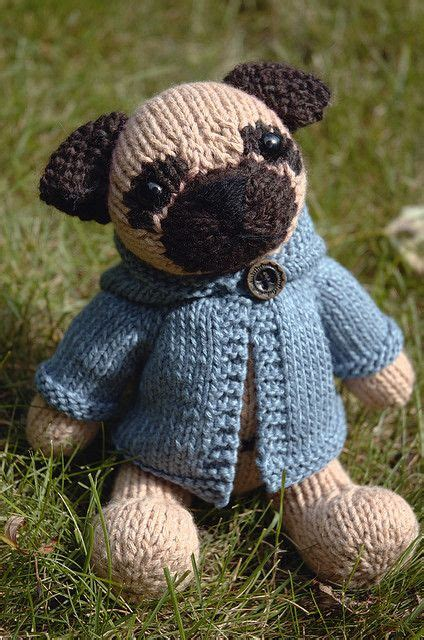 pug knitting pattern kelby by fuzzymitten via flickr knitted