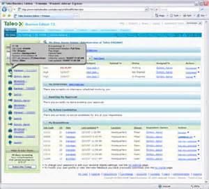 Desk Alternatives Taleo Screenshots