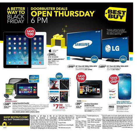 Best Buy Black Friday Giveaway - best buy black friday 2013 ad scan