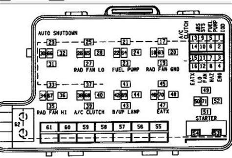 on board diagnostic system 1994 dodge grand caravan engine control 1994 dodge caravan fuel pump electrical problem 1994