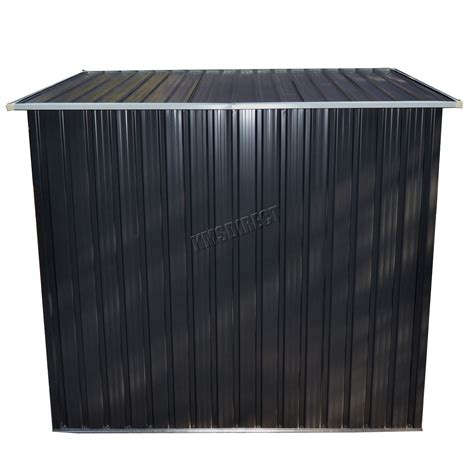 spare repair garden shed metal pent roof ft  ft outdoor
