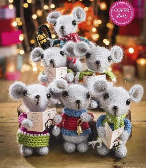 pattern for christmas mice 1000 ideas about christmas crochet patterns on pinterest