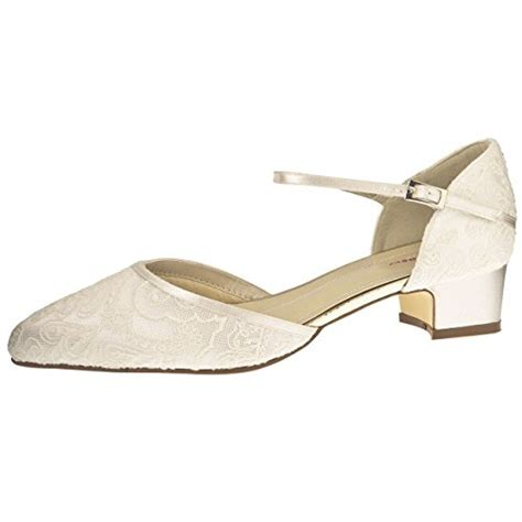 Bequeme Brautschuhe Creme by Elsa Coloured Shoes Rainbow Club Brautschuhe Angela