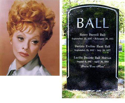 lucille ball death for your eyes only i m still miss you