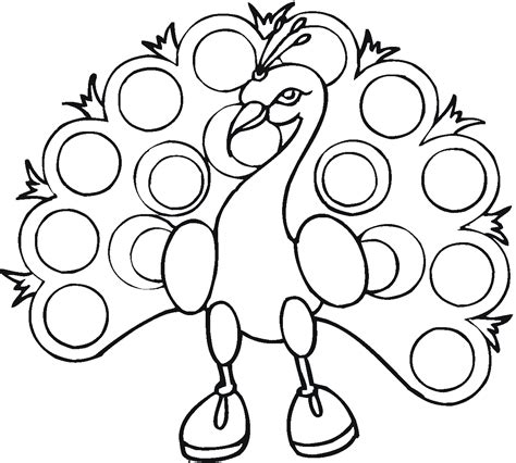 Coloring Pages Free free printable peacock coloring pages for