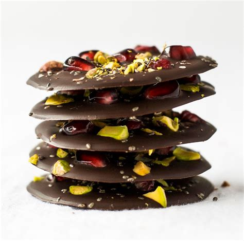 that can t bark pomegranate pistachio chia chocolate bark family food forum