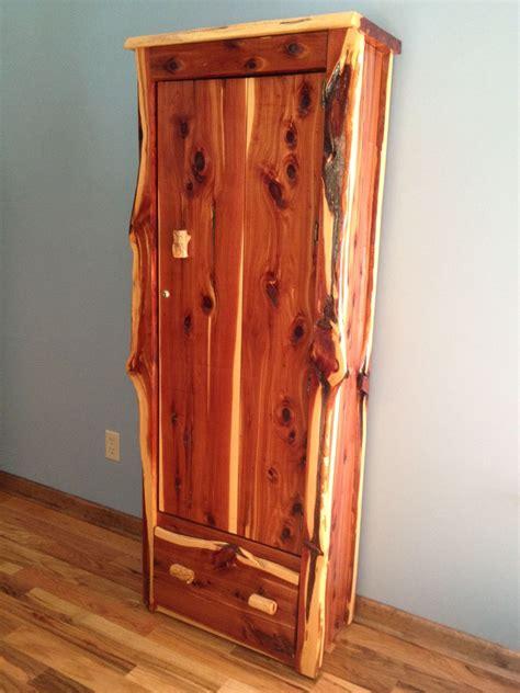 Cedar Cabinet by Gun Cabinet Cedar Rockin L Designs