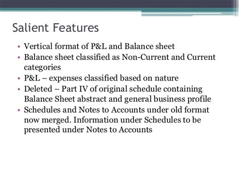 cash flow format under revised schedule vi revised schedule vi of company accounts