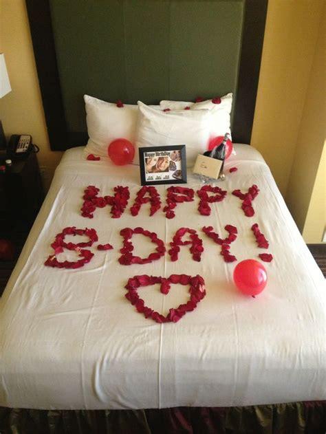 image result  romantic birthday surprises