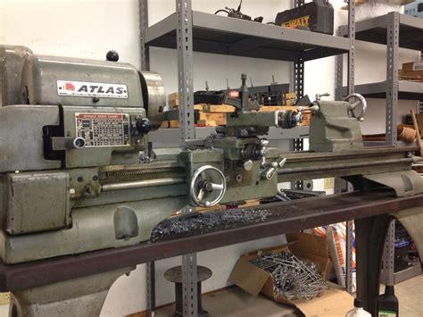 Machine Id D Atlas 12x36 Bench Top Metal Lathe Model 3983