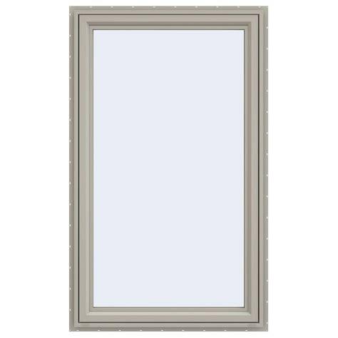 jeld wen awning windows jeld wen 35 5 in x 59 5 in v 4500 series left hand