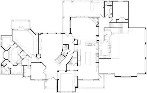 blank floor plan plan 5685 sapphire custom homes