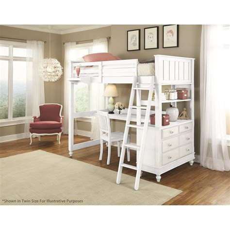 Youth Bedroom Dressers Ne Lake House Loft With Desk 1045 Desk On Sale Now The Simple Stores