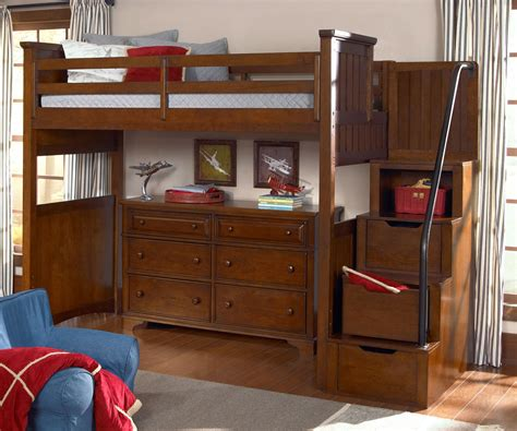 loft bed with steps bedroom delectable full size loft bed with stairs for