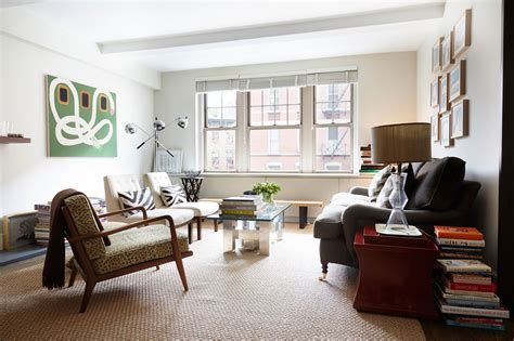 new york wohnzimmer room of the week mid century living room in designer s home