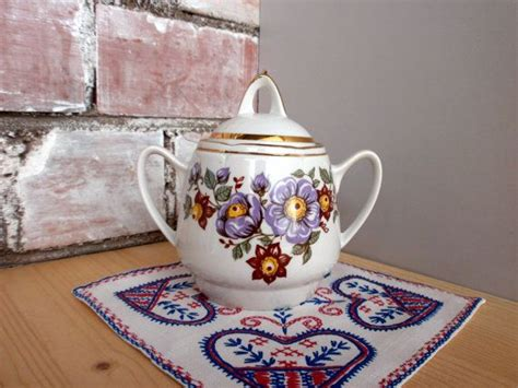 sugar 2 set 320 vintage russian sugar bowl porcelain sugar bowl with 2