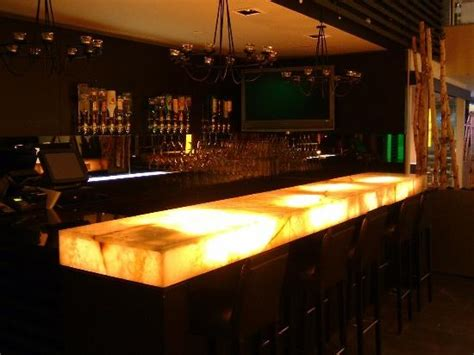 lit frosted glass bar top my style pinterest