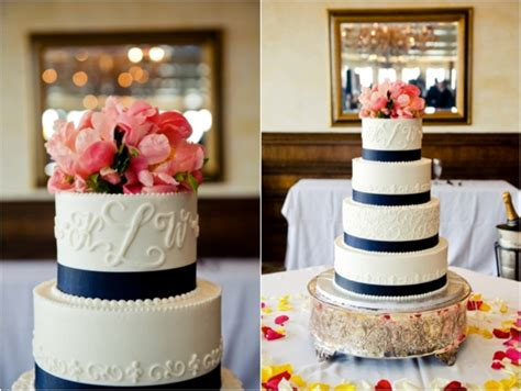 navy and coral wedding ideas picture of navy and a blush of coral wedding color palette