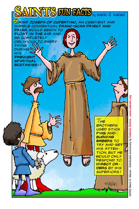 st facts st joseph of cupertino saints catholic