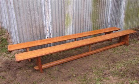 school gym bench vintage school gym bench 1950s for sale at pamono