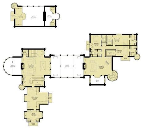 floor plan of windsor castle log castles by bet 39 r bilt inc windsor castle