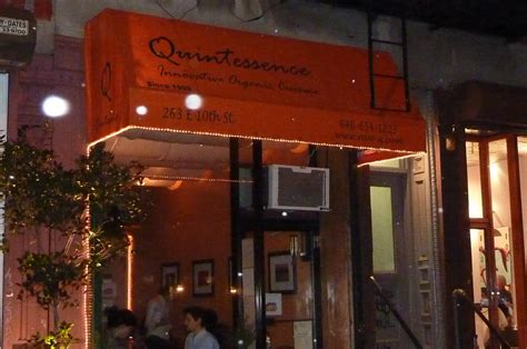 My Quintessence quintessence a review of my recent dinner there