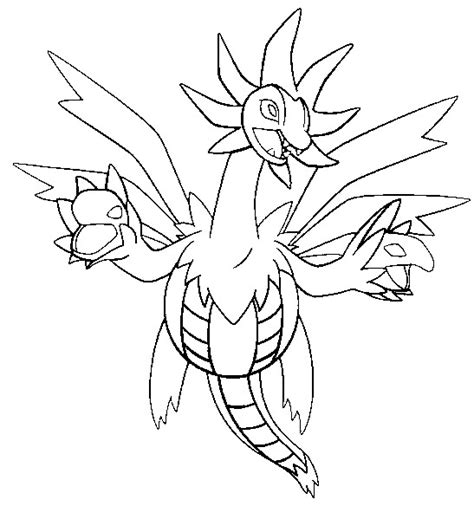 pokemon coloring pages hydreigon coloring pages pokemon hydreigon drawings pokemon