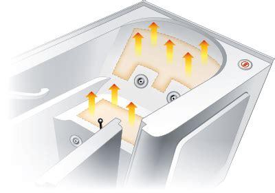 heated bathtubs radiant heated bathtub and shower heating systems