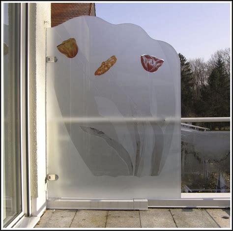 Sichtschutz Aus Stoff by Balkon Sichtschutz Stoff Balkon House Und Dekor