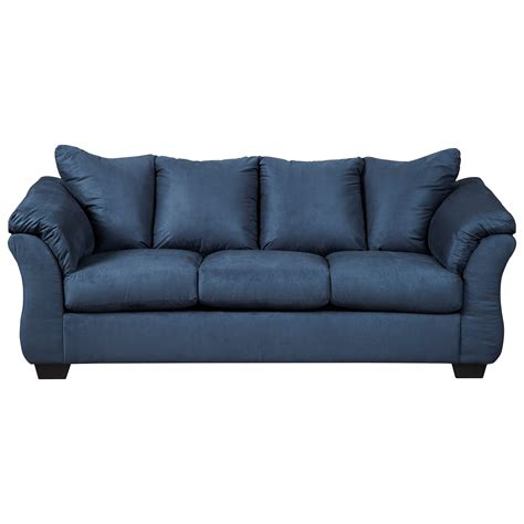 furniture darcy sofa signature design by darcy blue 7500738