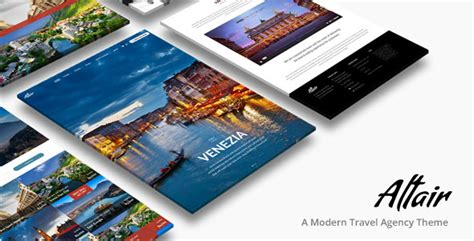 themeforest travel tour travel agency altair theme free download v2 3