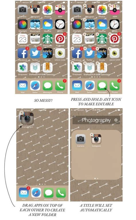 organize or organise how to organize your iphone screen and make it look
