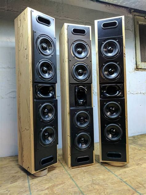 fusion  quad  build   diy speakers home