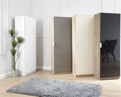 180cm high gloss shoe cabinet walnut black amc furniture