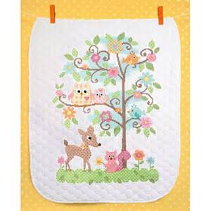 dimensions baby hugs happi tree quilt sted cross stitch