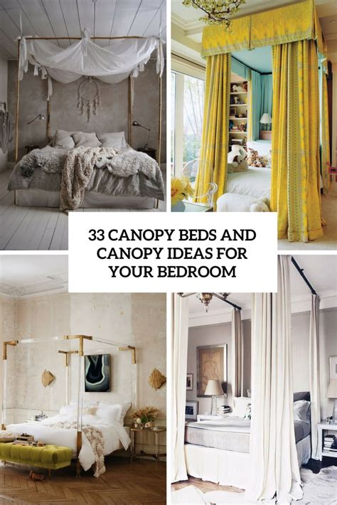 canopy ideas for bedroom 33 canopy beds and canopy ideas for your bedroom digsdigs