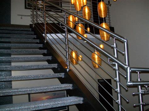 stainless steel railings for stairs images