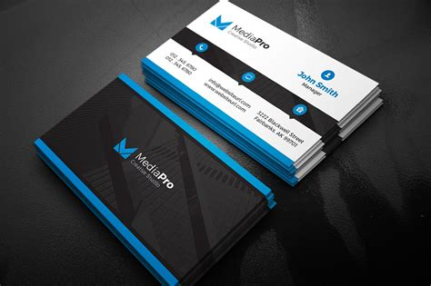 business card template for modern creative business card business card templates