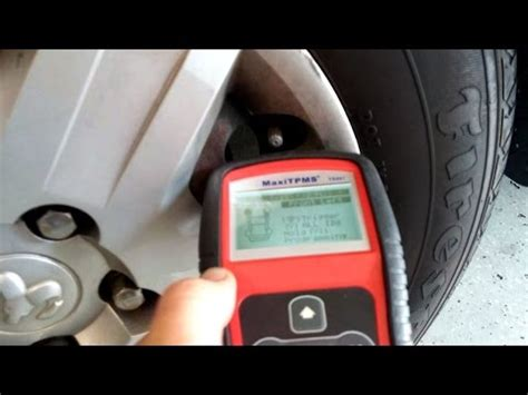 test  replace tpms sensors youtube