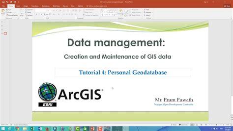 arcgis geodatabase tutorial data arcgis tutorial geodatabase management
