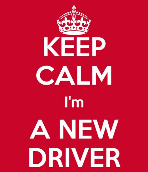 Im An Excellent Driver 2 by Keep Calm I M A New Driver Poster Keep Calm O Matic