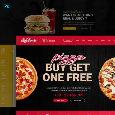 free bootstrap templates for online food order coffee shop bootstrap themes templatemonster