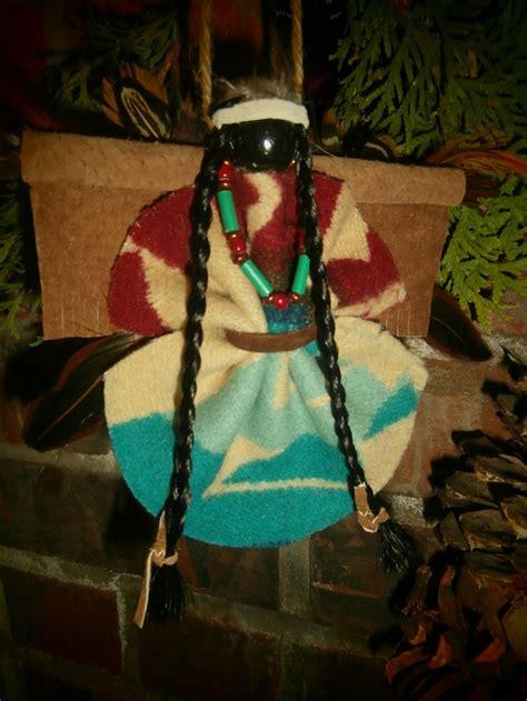 large native american indian christmas holiday angel ornament    kind design pendleton