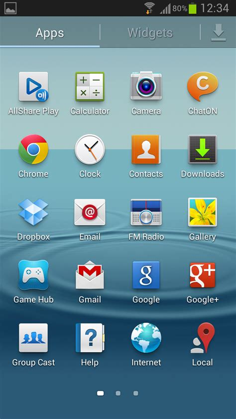 screenshot on android samsung galaxy s3 bekommt android 4 1 2 update mit vielen neuen features mobilegeeks de