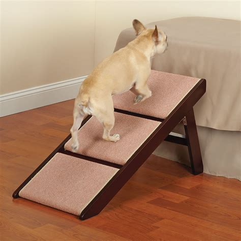 dog bed with stairs dog stairs for high bed canada dog steps for bed rustic