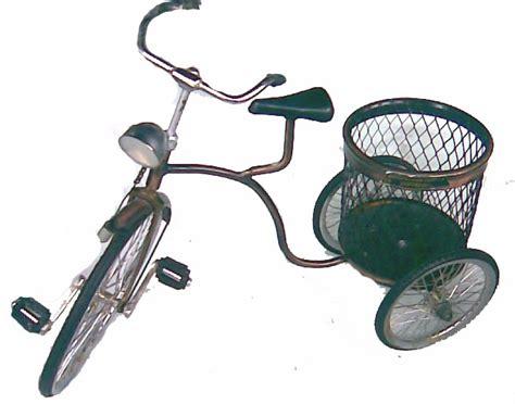 Sepeda Keranjang Onthel miniatur kendaraan tradisional dipranoto s business