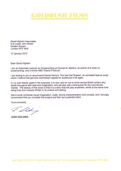 Technology Skills Resume Examples by Reference Letter From Josh Golding